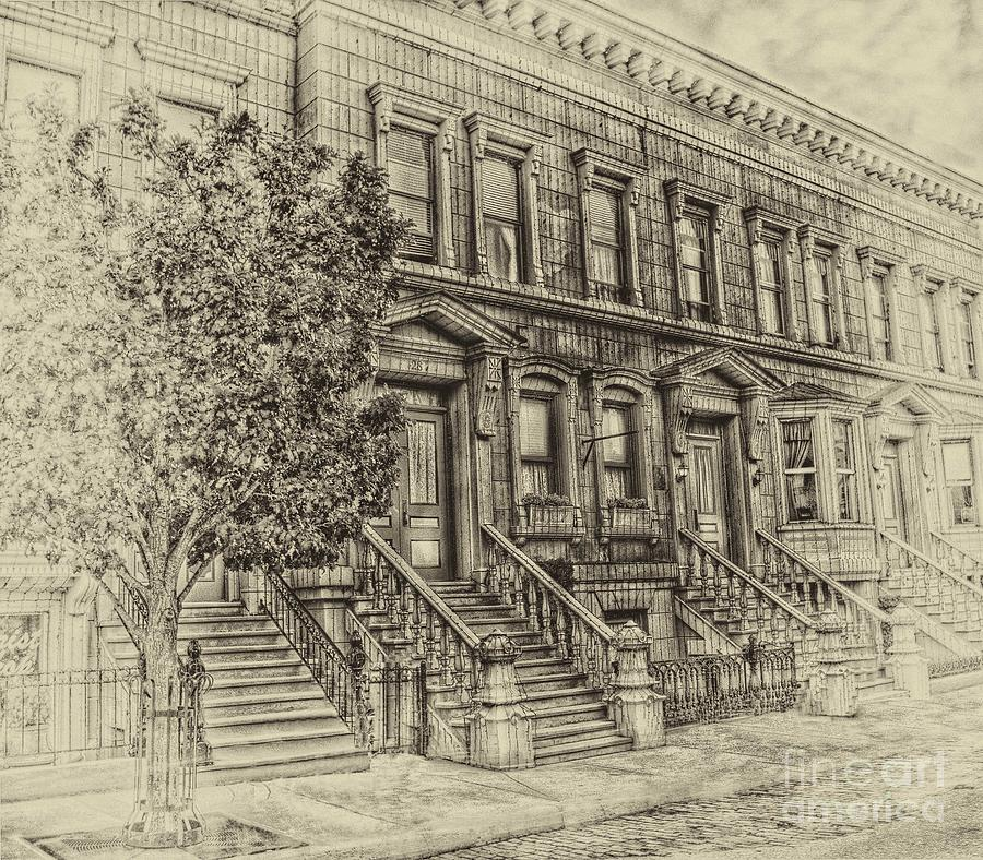 Stoop Photograph - Stoop Ball Anyone by Arnie Goldstein