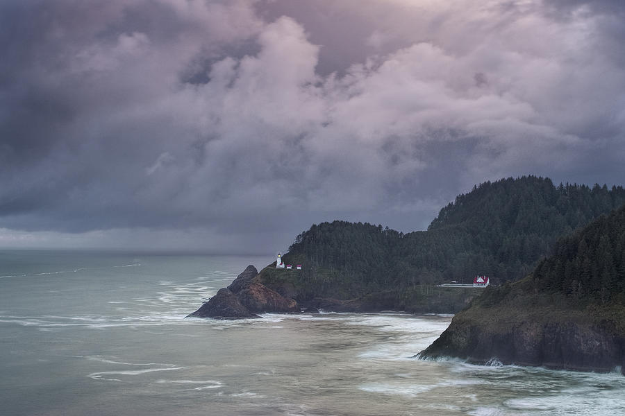 Lighthouse Photograph - Storm Rolling In by Andrew Soundarajan