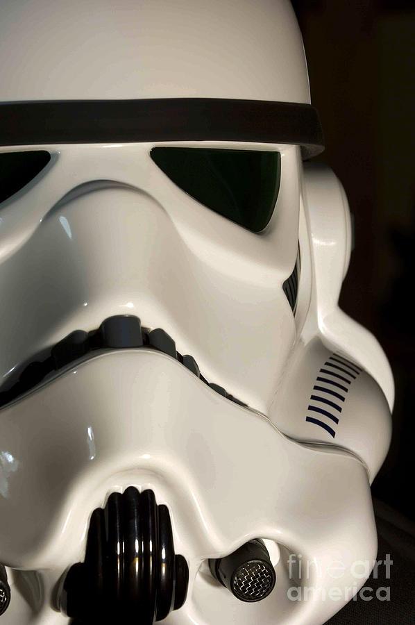Stormtrooper Photograph - Stormtrooper Helmet by Micah May