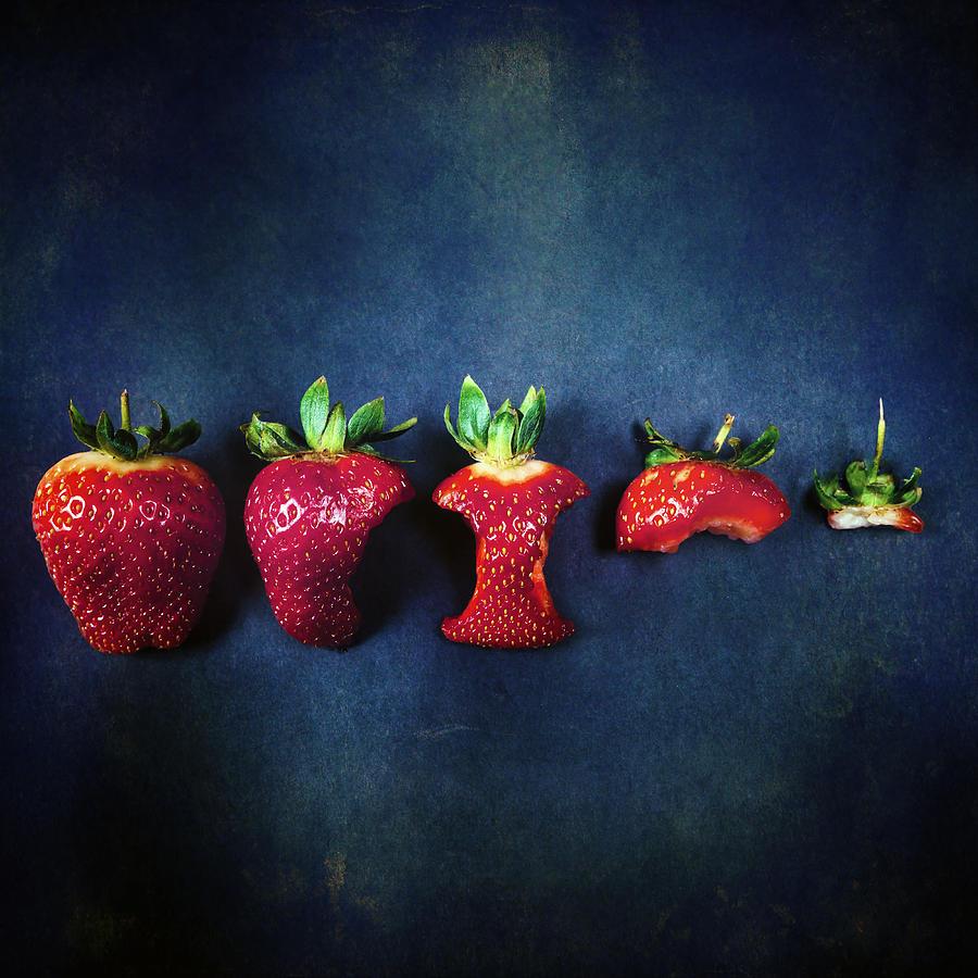 Strawberry Photograph - Strawberries by Joana Kruse