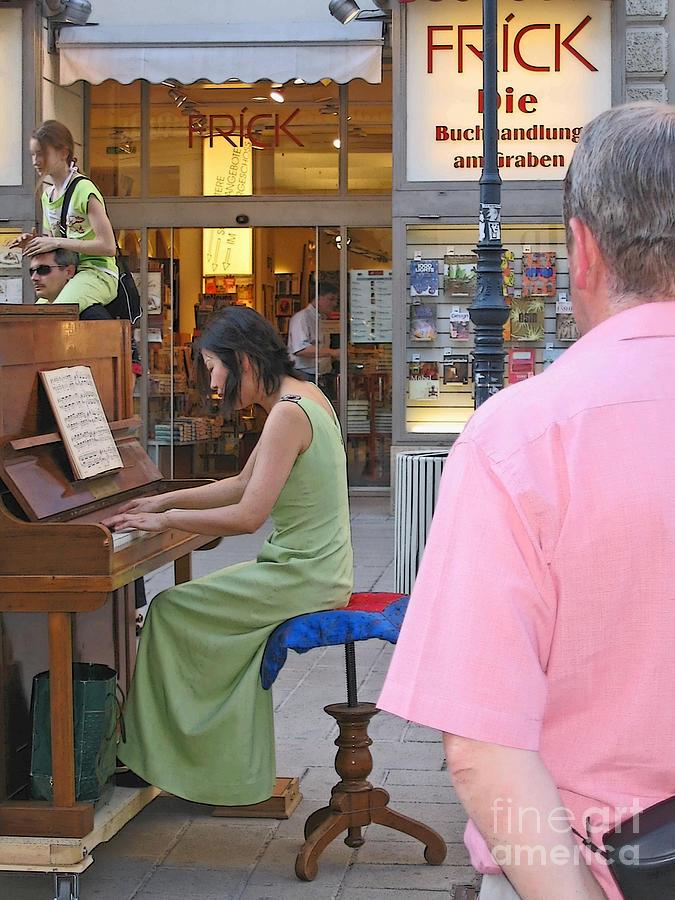 Street Music Photograph