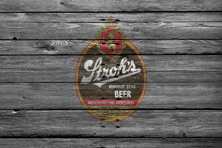 Strohs Photograph - Strohs Beer by Joe Hamilton