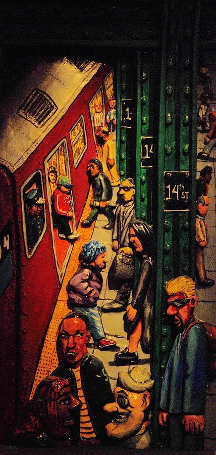 New York City Photograph - Subway by Rob Hans