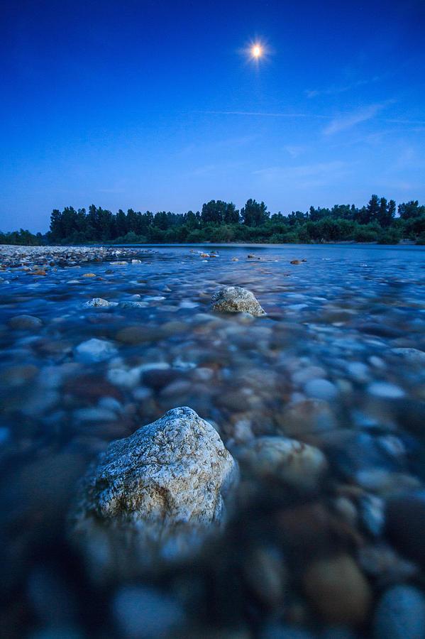 Landscape Photograph - Summer Night by Davorin Mance