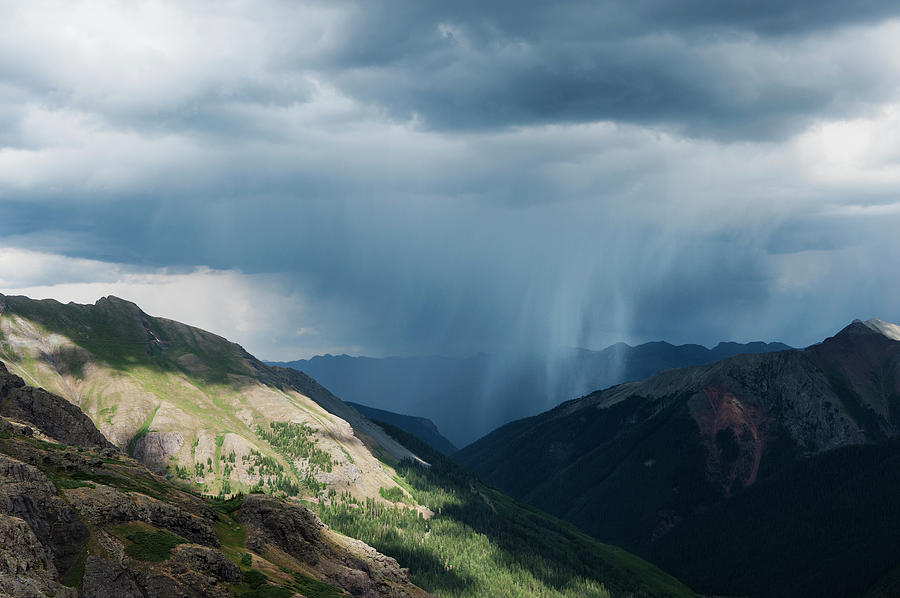 Summer Thunderstorms From Ice Lakes Photograph by Cody Duncan