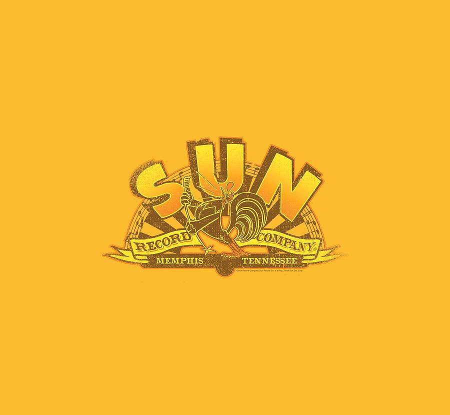 Sun Record Company Digital Art - Sun - Rockin Rooster Logo by Brand A