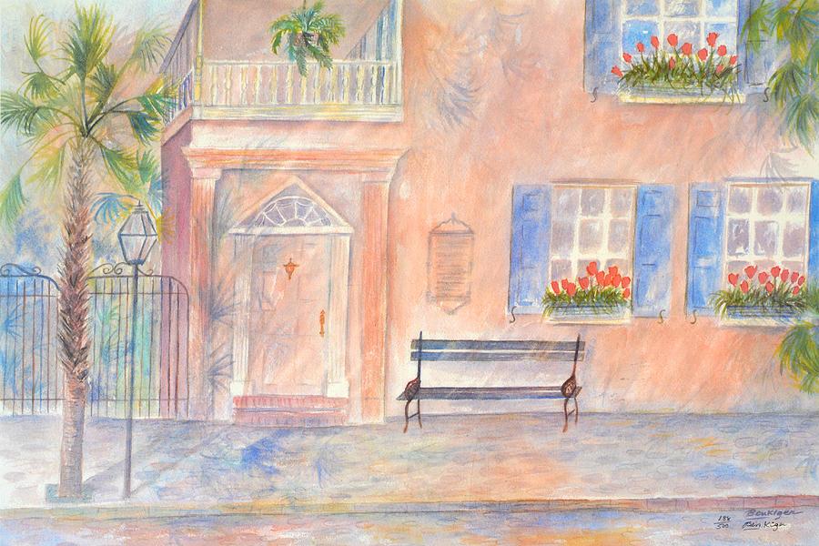 Charleston Painting - Sunday Morning in Charleston by Ben Kiger