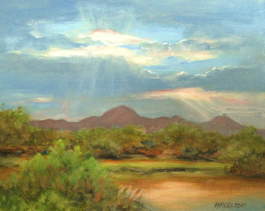 Sunrise by Peggy Wrobleski