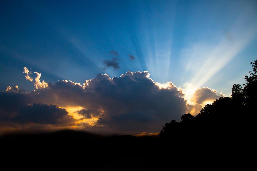 Sunset Photograph - Sunset by Paulina Szajek