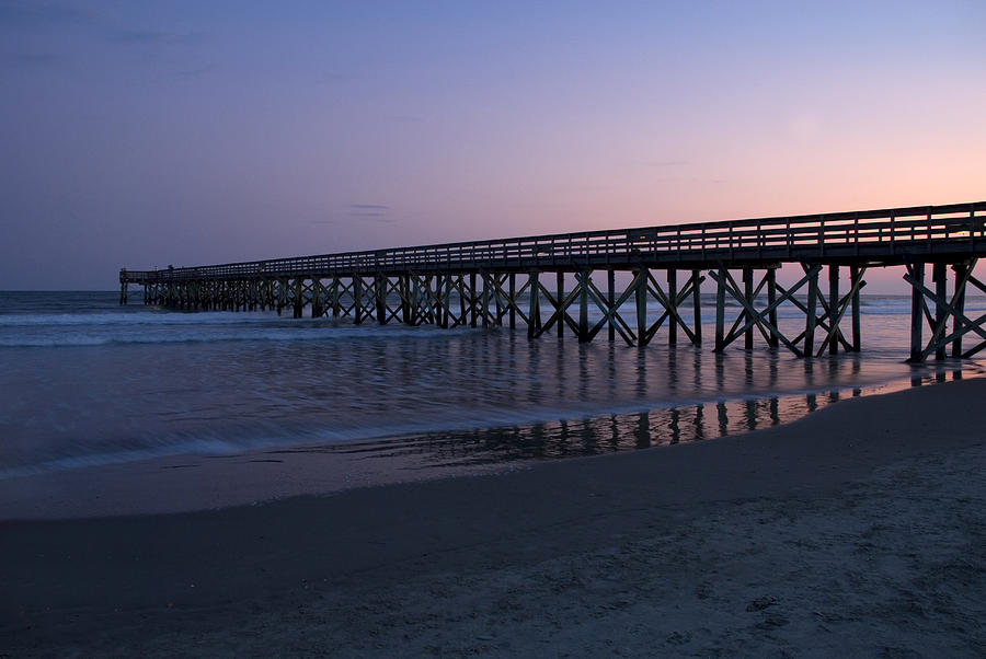Pier Photograph - Sunset Pier by Jessica Wakefield
