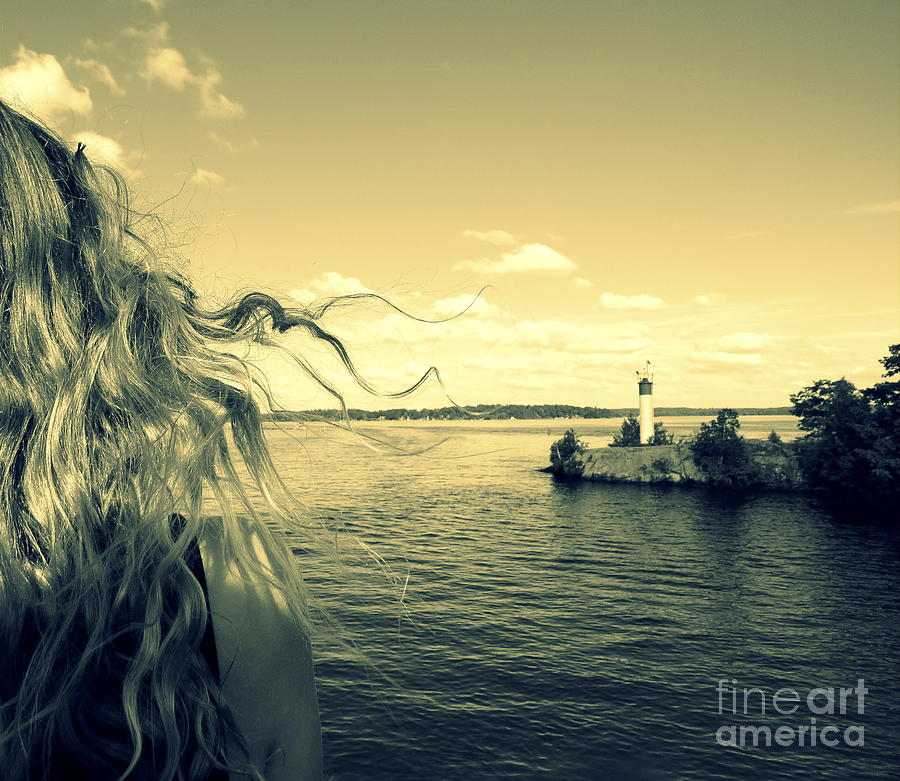 Water Photograph - Sunshine by France Laliberte