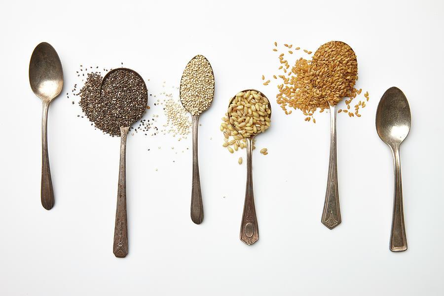 Super Food Grains Photograph by Lew Robertson