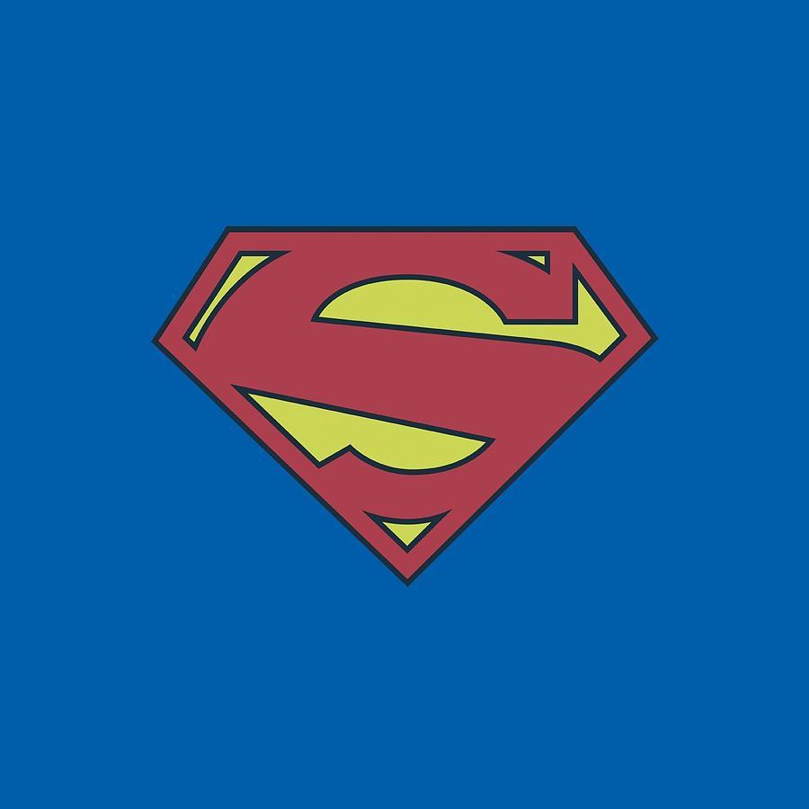 Superman Digital Art - Superman - New 52 Shield by Brand A