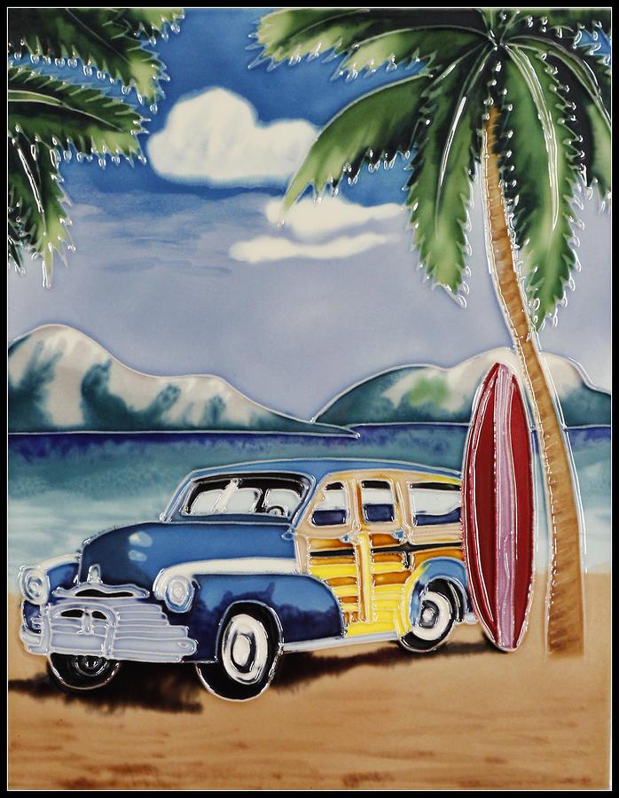 Cadillac Photograph - Surfers Dream by Kip Krause