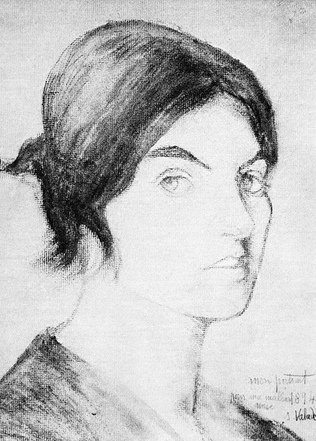 1894 Drawing - Suzanne Valadon (1865-1938) by Granger