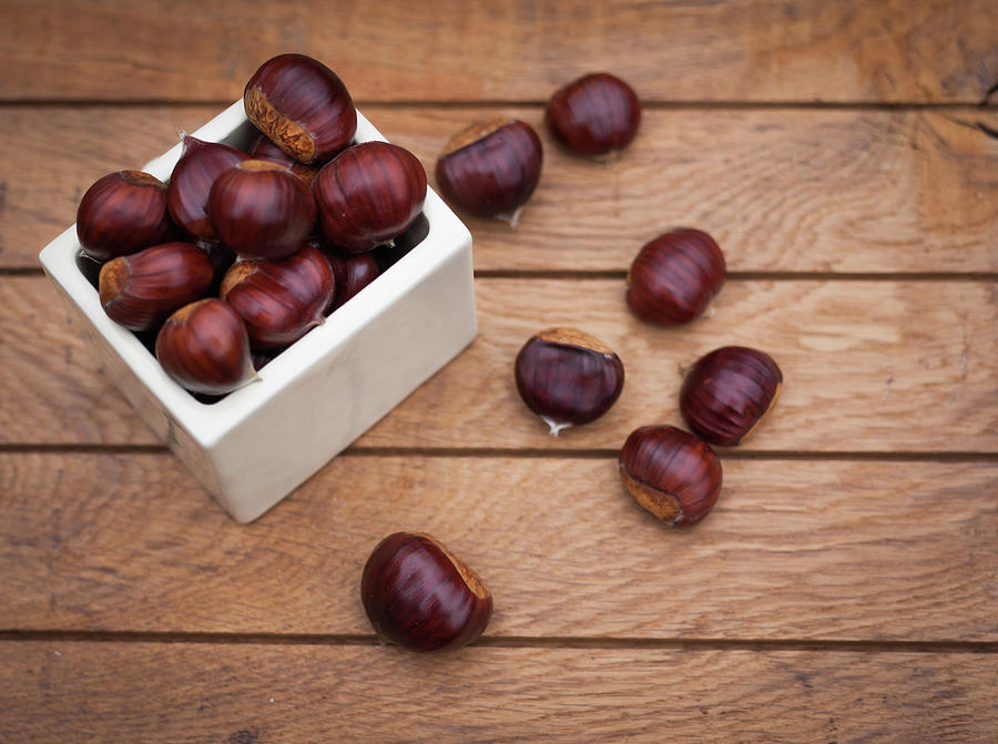 Sweet Chestnuts Photograph by Deborah Pendell