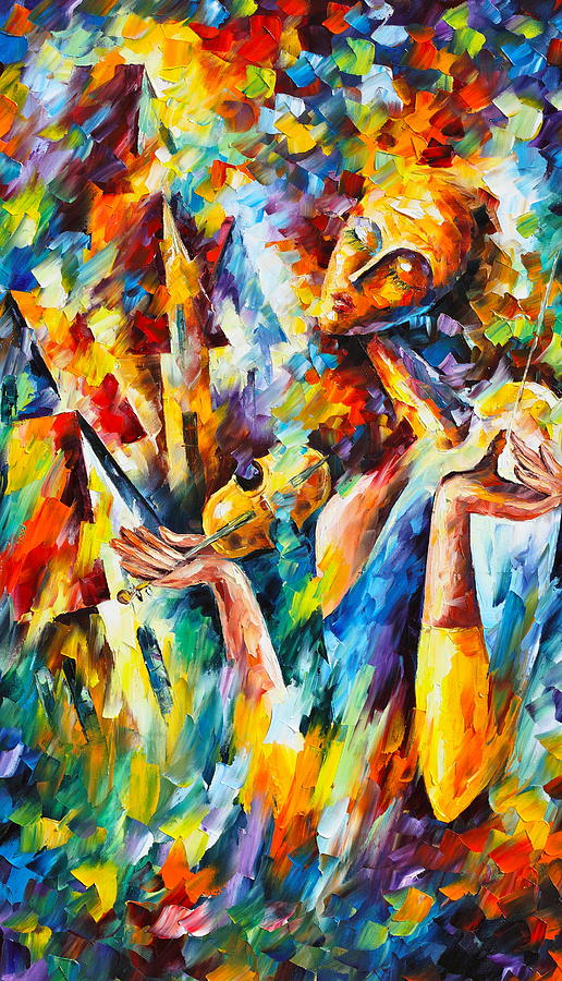 Surreal Painting - Sweet Dreams by Leonid Afremov