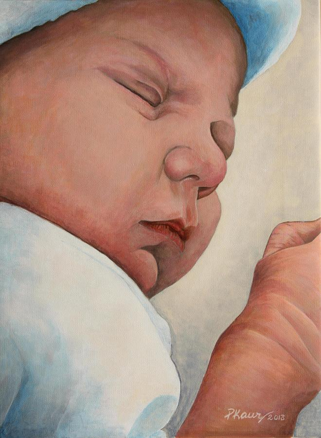 Baby Painting - Sweet Dreams by Pam Kaur