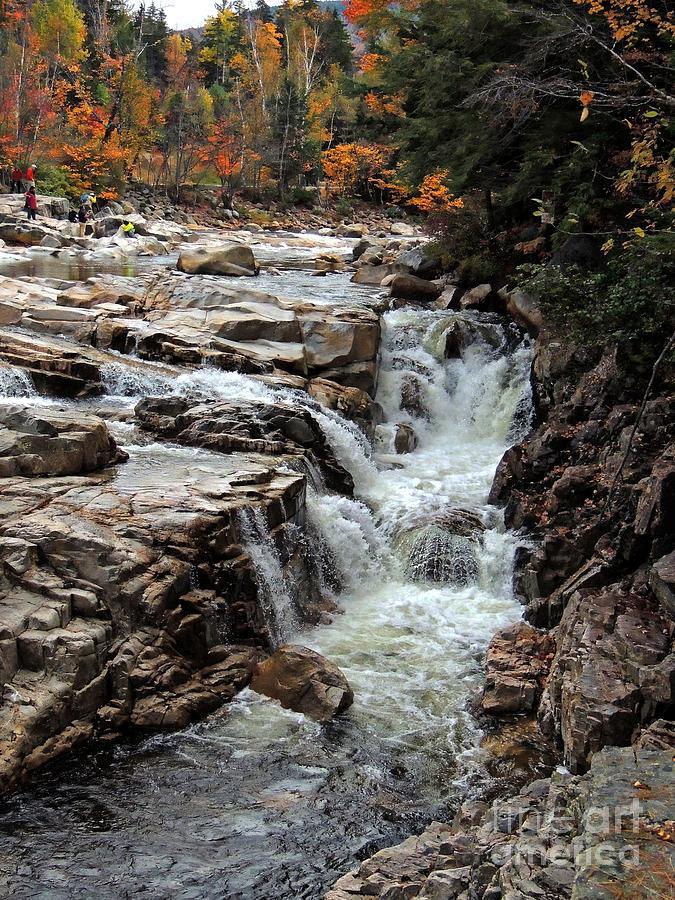 Landscape Photograph - Swift River by Marcia Lee Jones