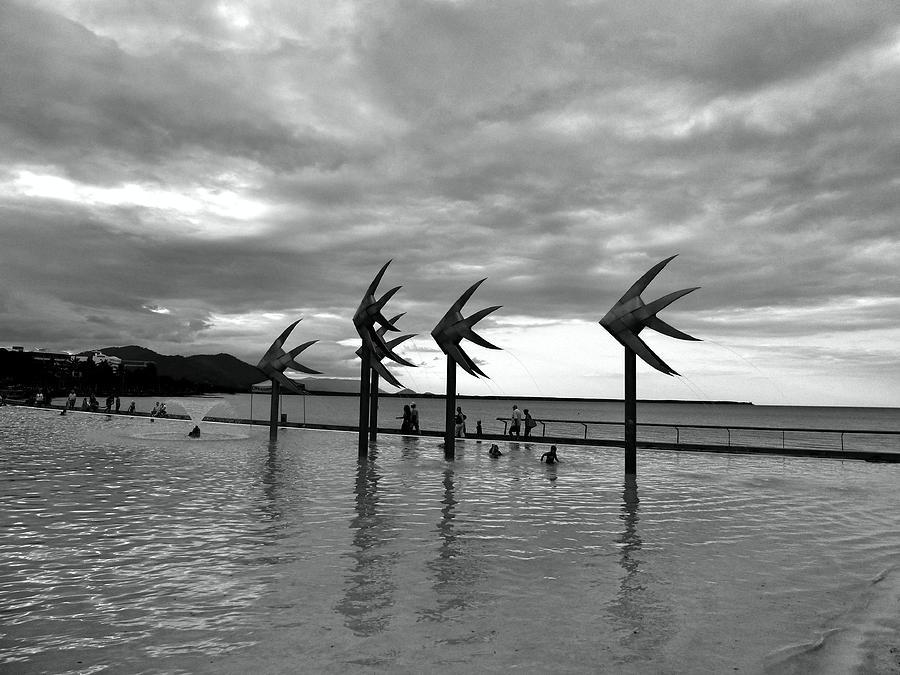 Swimming Pool Photograph - Swimming Pool by Girish J