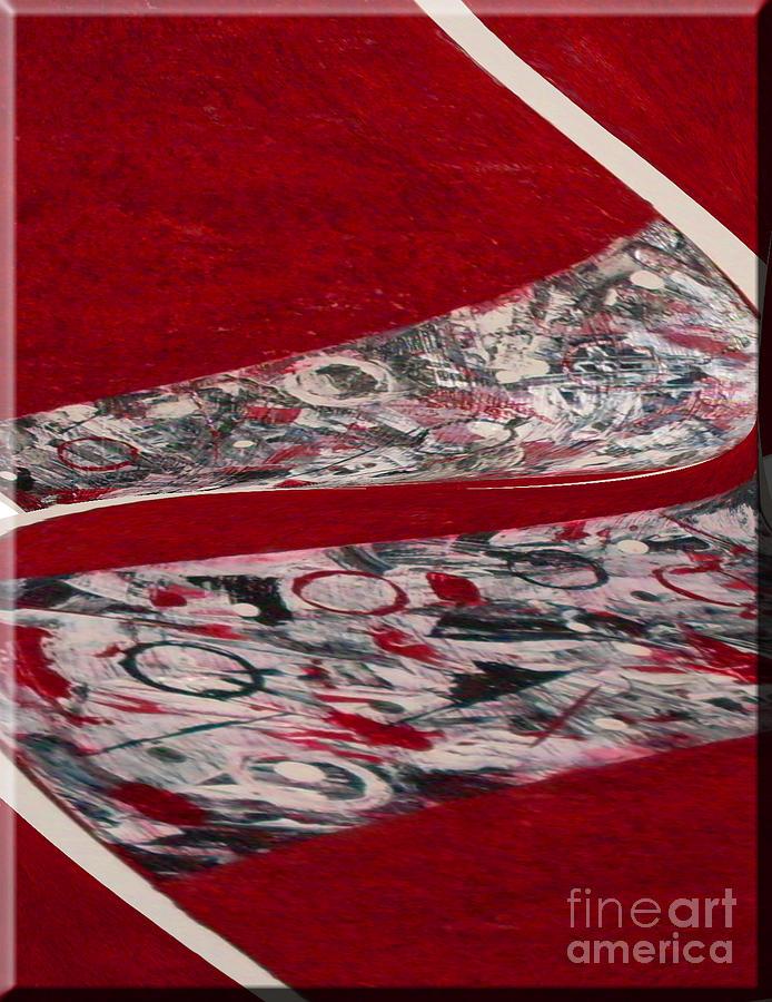 Living Room Ceramic Art - Swirl by Gabriele Mueller