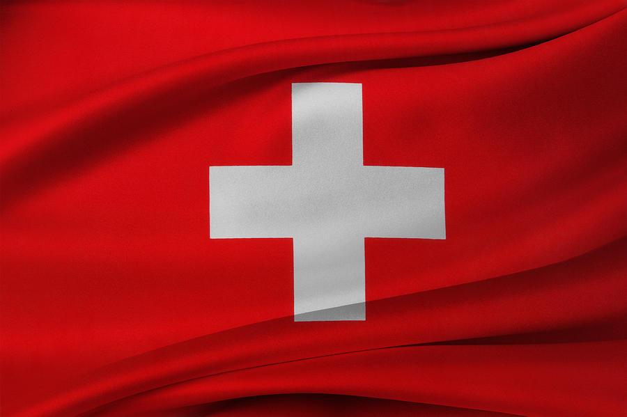 Swiss Flag Photograph