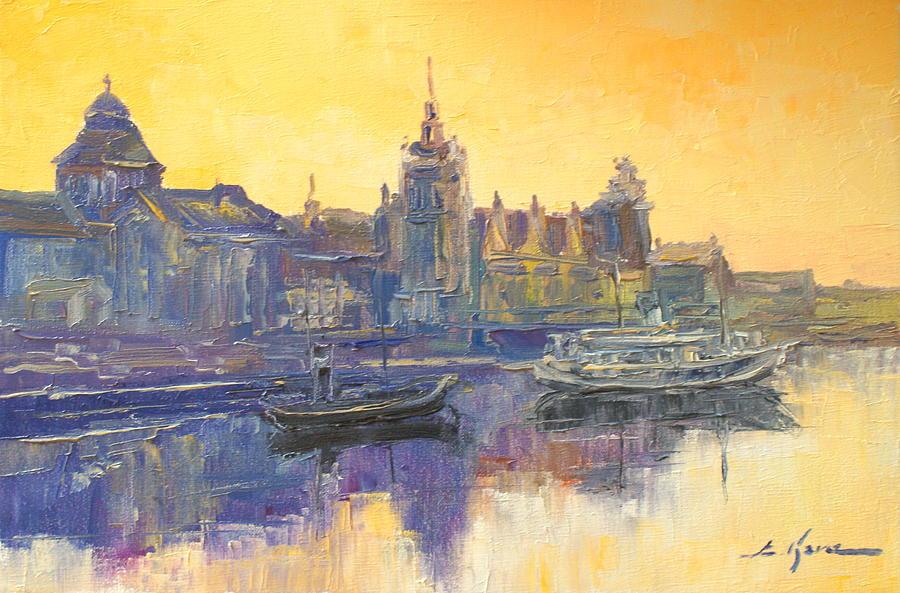 Szczecin Painting - Szczecin - Poland by Luke Karcz