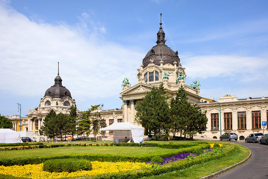 Bath Photograph - Szechenyi Baths In Budapest by Artur Bogacki