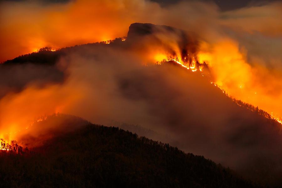 Table Rock Fire  by Mark Steven Houser