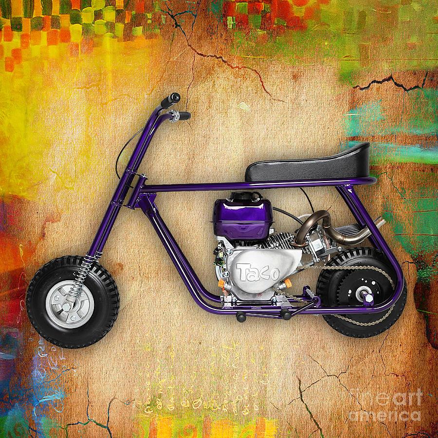 Mini Bike Art | Fine Art America