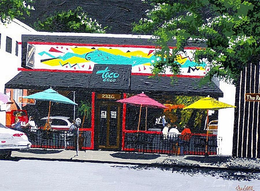 Sacramento Painting - Taco Loco by Paul Guyer