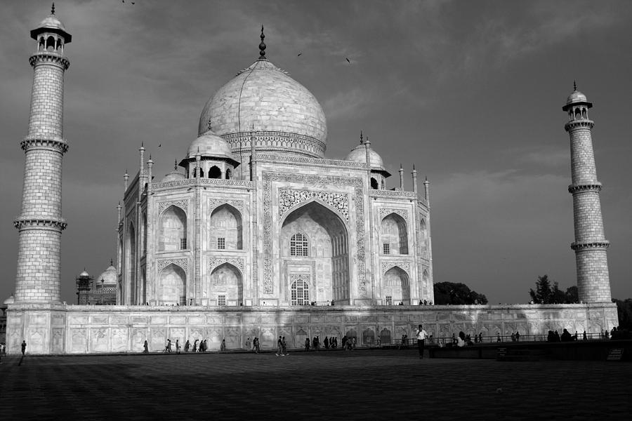 Taj Mahal Photograph - Taj Mahal - India  by Aidan Moran