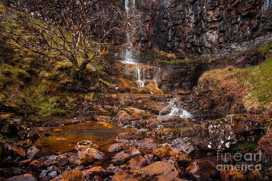 Talisker Photograph - Talisker Waterfall by Maciej Markiewicz