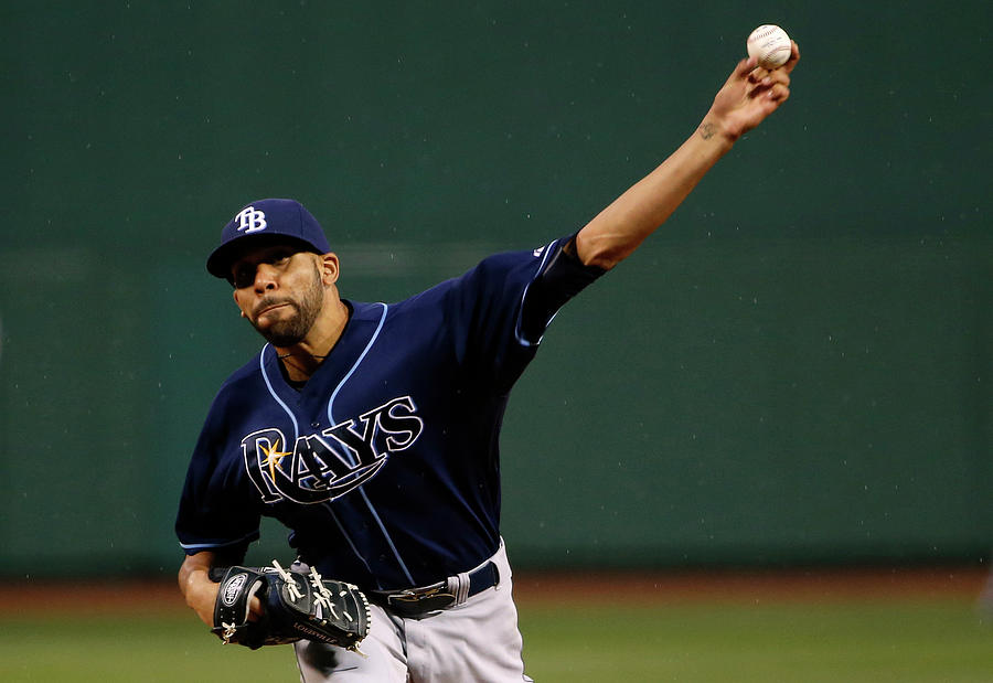 Tampa Bay Rays V Boston Red Sox Photograph by Winslow Townson