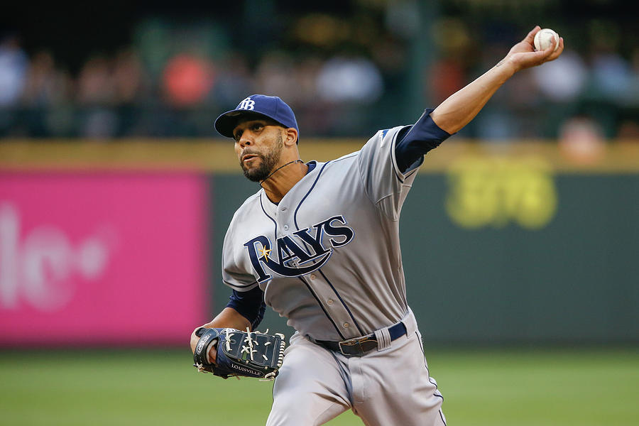 Tampa Bay Rays V Seattle Mariners 1 Photograph by Otto Greule Jr