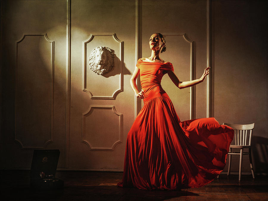 Dress Photograph - Tango by Sergei Smirnov