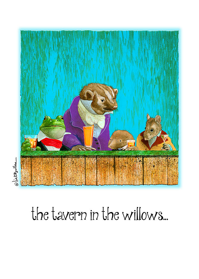 Will Bullas Painting - Tavern In The Willows... by Will Bullas