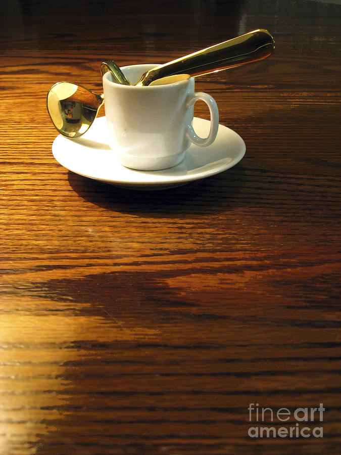 Espresso Photograph - Tea Time by Leslie Hunziker