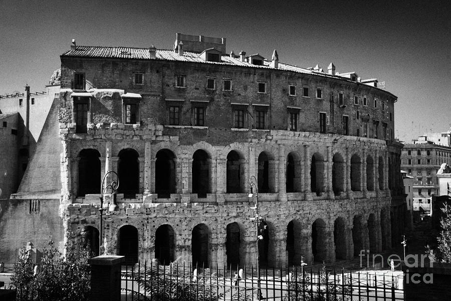 Teatro Marcello Rome Lazio Italy Photograph by Joe Fox