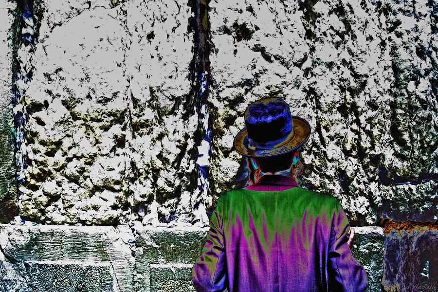Technicolor Chassid Photograph by Joseph Hedaya