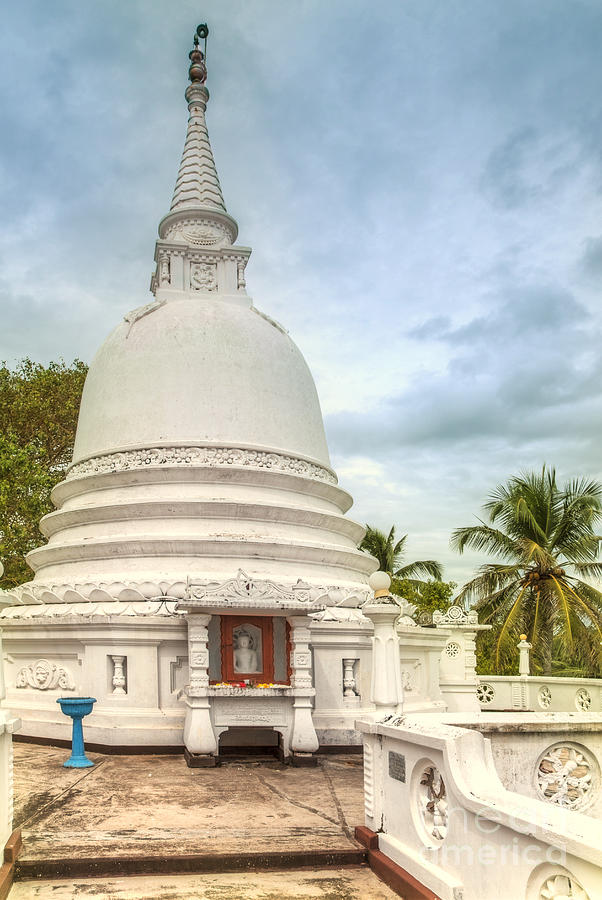 Temple Photograph - temple complex at the tropical island Sri Lanka by Gina Koch