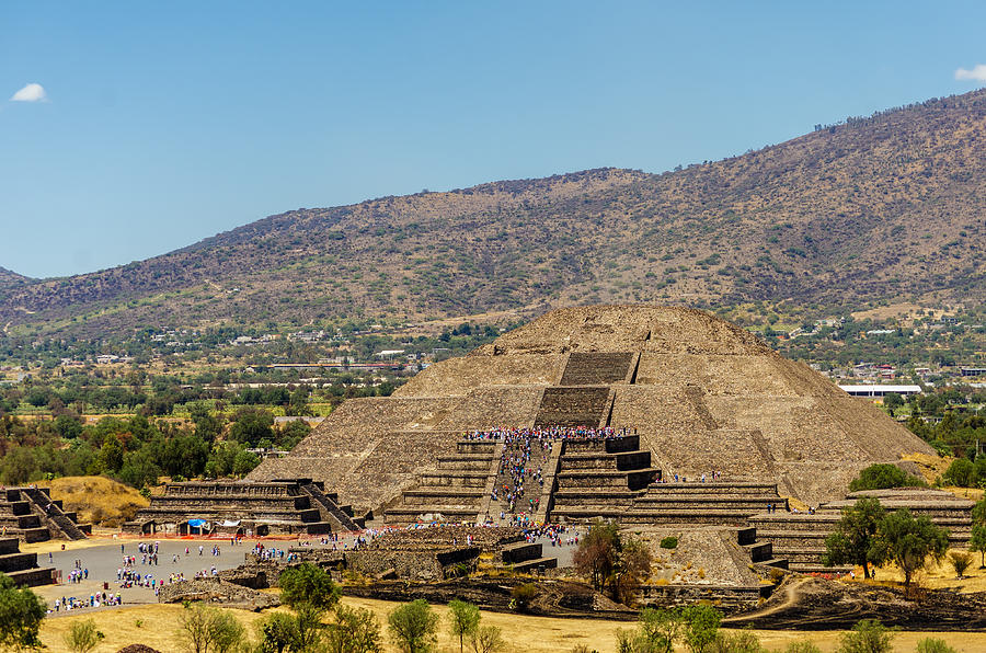 Teotihuacan Photograph - Temple Of The Moon by Jess Kraft