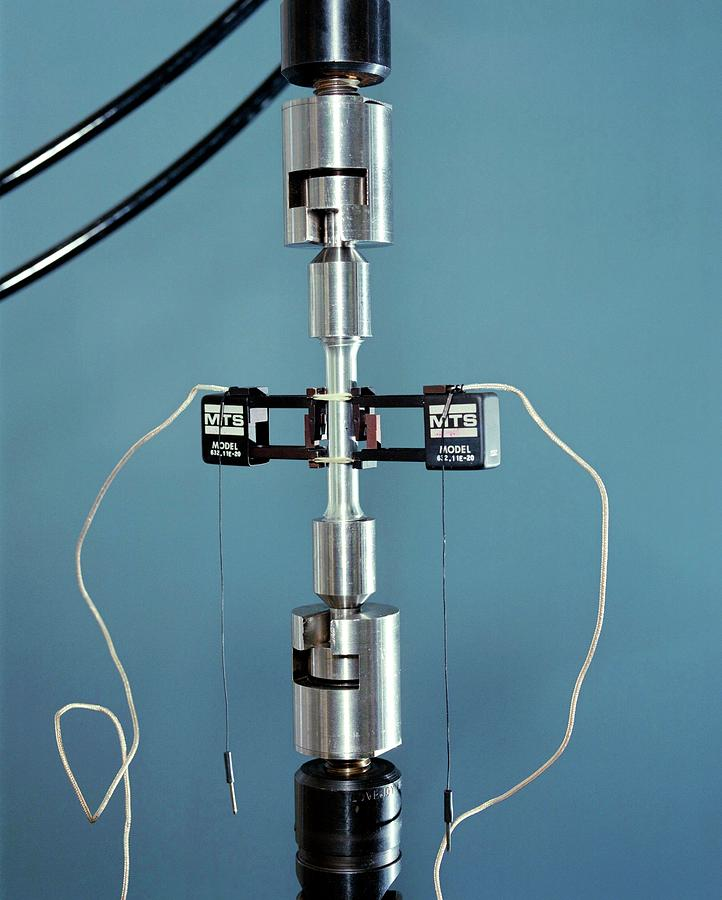 Equipment Photograph - Tensile Testing by Langley Research Center/nasa/science Photo Library