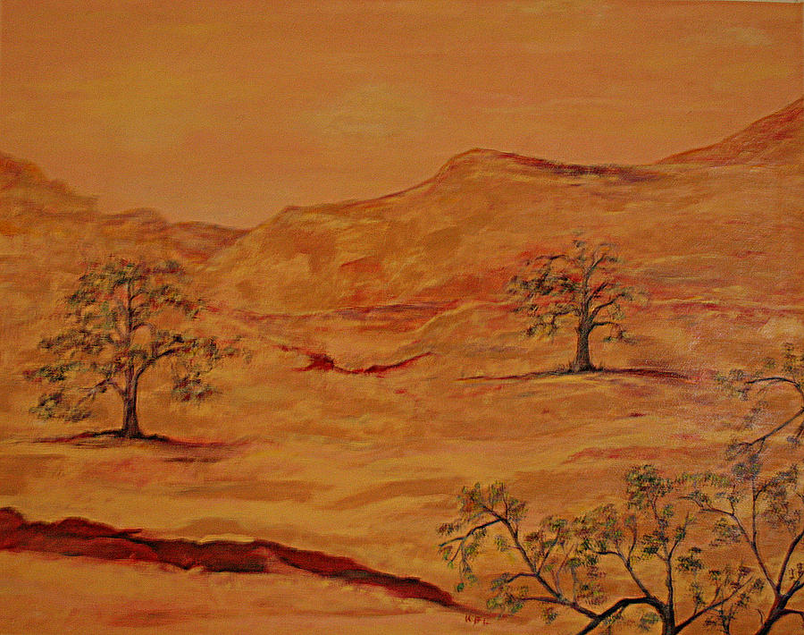 Texas Painting - Texas Hill Country by Kathy Peltomaa Lewis
