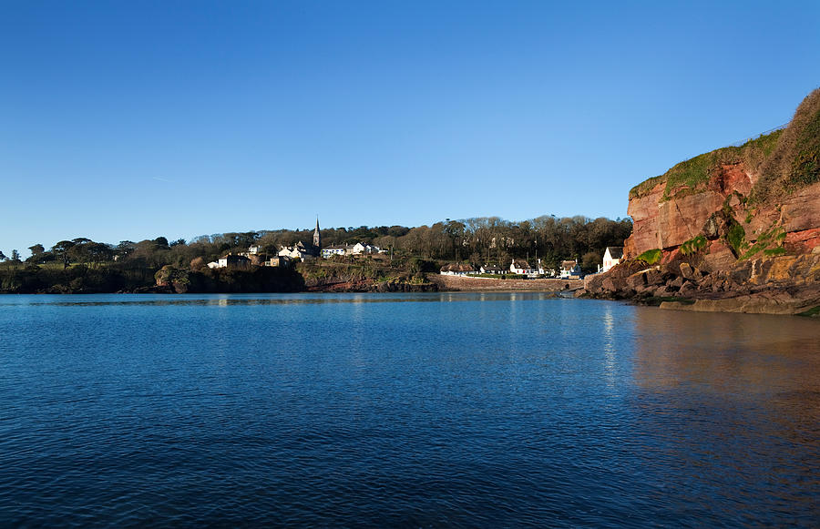 Color Image Photograph - Thatched Cottages, Dunmore Strand by Panoramic Images