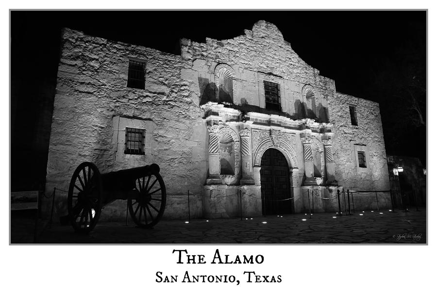 Alamo Photograph - The Alamo by Stephen Stookey