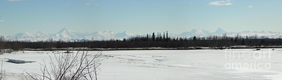 Mountains Photograph - The Alaska Range by Jennifer Kimberly