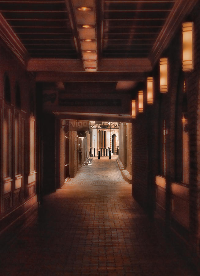 Boston Photograph - The Alleyway by Joann Vitali