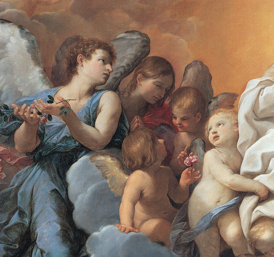 Guido Reni Prints Painting - The Assumption Of The Virgin Mary by Guido Reni