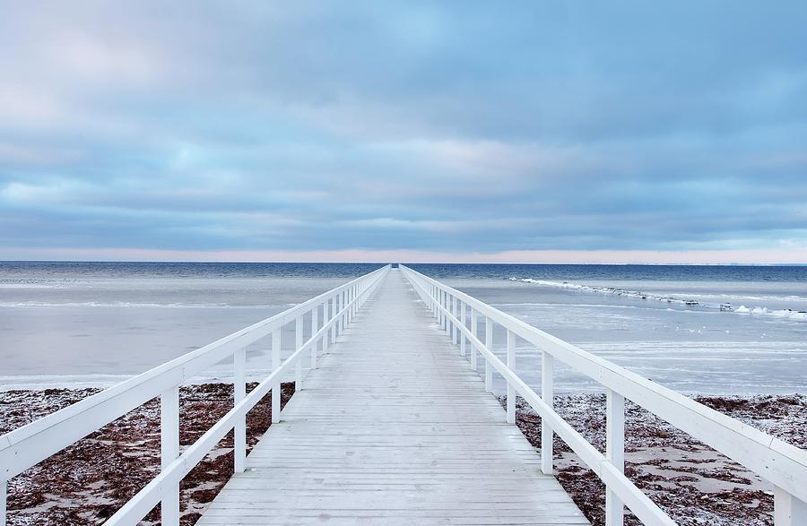 Sweden Photograph - The Bridge by Jacek Oleksinski
